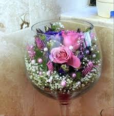 oversized wine gl vases decoration large decorative gles decor