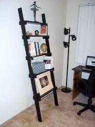 image ladder bookshelf design simple furniture. ladder bookshelf design simple black images image furniture o