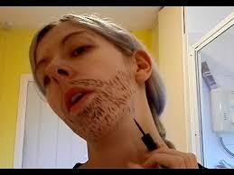 O'clock Full How Make-up Do A To Tutorial Goatee Shadow 5 And Ladytache Beard Basic