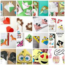 Design Handmade Bookmarks Corner Bookmarks Designs How Make Origami Bookmark Corners