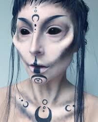 makeup ideas of alien