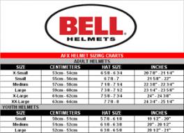 Bell Motorcycle Helmet Size Chart 1stmotorxstyle Org