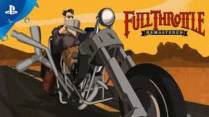 <b>Full Throttle</b> Remastered - PSX 2016: First Look Trailer | PS4 ...