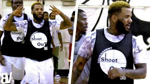 the game shows off range talks smack in los angeles pick up game