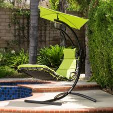 la costa outdoor hanging chair with cushion