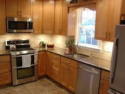 Plain Kitchen Design Layout Ideas For Small Kitchens Like The Addition Of Mullion Doors Intended Decorating