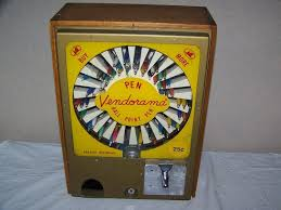 Pen Vending Machine Delectable Vintage 48's Ink Pen Vendorama 48c Vending MachineWorksVery Neat