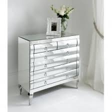 mirrorred furniture. rimini mirrored chest 2 over drawers mirrorred furniture