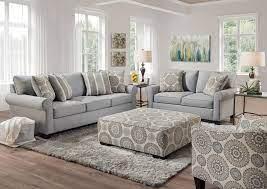 vivian sofa set gray home furniture