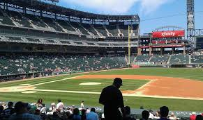 Guaranteed Rate Field Seating Chart With Rows Guaranteed Rate Field Section 122 Row 29 Seat 6 Chicago
