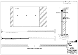 sliding door detail drawing wall slide movable wall systems