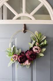 moody modern fall wreath | diy fall wreath | diy wreath | minimalistic  wreath | modern