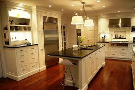 white shaker kitchen cabinets with granite countertops. Image Of: White Shaker Cabinets With Granite Countertops Kitchen D
