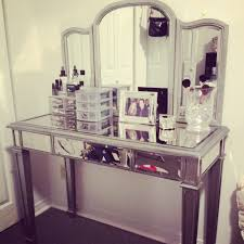 Mirrored Bedroom Vanity Small White Vanity Table Exciting Makeup Table With Lighted