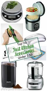 Kitchen Accessories Top 20 Best Kitchen Accessories Under 50 Pinkwhen