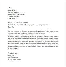 Sample Employee Re mendation Letter1