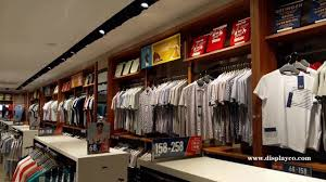 Apparel Display Stands clothes showcase for manclothes racks man garment display store 44