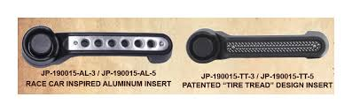 1 line up drake jeep door handle insert so that it sits flush and follows the door handle lines