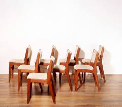 set of 8 dining chairs erik buch 1950s previous next