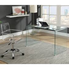 glass desks for office. Exquisite Contemporary Glass Desk 1 Luxury Excellent Office Table Desks For