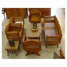 Wooden Sofa Set View Specifications Details of Wooden Sofa Set