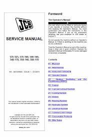 Jcb 535 125 Lifting Chart Jcb 535 125 535 140 540 140 540 170 550 140 550 170