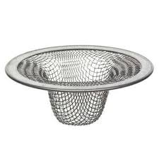 lavatory mesh sink strainer