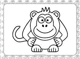 Search through 623,989 free printable colorings at getcolorings. Cool Monkey Coloring Page