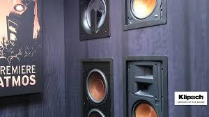 klipsch thx speakers. cedia 2015 video: klipsch reveals architectural thx in-wall speakers - youtube thx