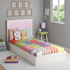 Kids Furniture, Kids Twin Beds Walmart Toddler Beds Colorfull Bedroom With  Lamp Carpet And Number
