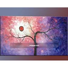 gray red black tree landscape art oil paintings modern abstract oil painting art on canvas mixed whole adornment