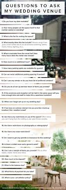 Questions To Ask A Wedding Venue Uk