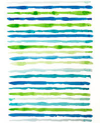abstract watercolor lines