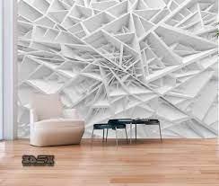 3D effect wallpaper patterns for living ...