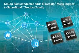 Dialog Semiconductor Adds Bluetooth Mesh Support To