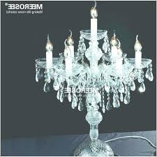 rare gallery of table top chandelier awesome wedding decoration crystal chandelier