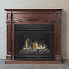 pleasant hearth fireplace door pleasant dual fuel vent free gas fireplace large size