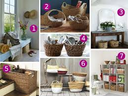With BasketsBaskets For Home Decor