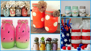 Decorating Ideas With Mason Jars ❣DIY Mason Jars Crafts IdeasDIY Summer Room Decoration Ideas 40