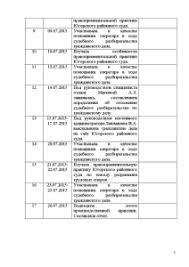 Отчет о производственной преддипломной практике Югорский  Отчёт по практике Отчет о производственной преддипломной практике Югорский районный суд 6