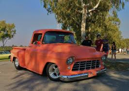 55 Chevy pickup at Perth Custom Cars and Coffee meet | CHEVROLET ...