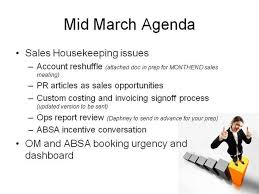 Sales Meeting Agenda Sales Meeting Agenda Authorstream