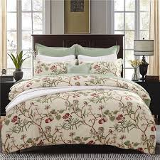 romantic american country style girl vintage fl printed bedding sets 3 4 6pc uk