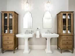 pedestal sink bathroom pictures small