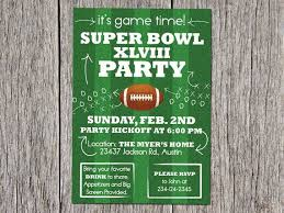 Super Bowl Invitation Template Tirevi Fontanacountryinn Com