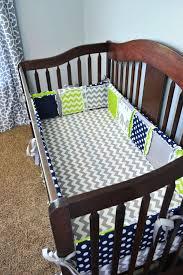 lime green crib bedding