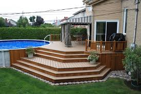 Backyard With Pool Design Ideas Cool Attractive Patio Deck Designs Patio Deck Ideas Pool Design Ideas