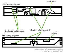 do it yourself in z scale multi unit locomotive wiring thanks to graham jones zclub gb for this diagram