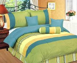 the combination of blue and green for