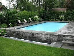 Above Ground Pool Rectangle Raised Swimming Pools Raised Pool Cost